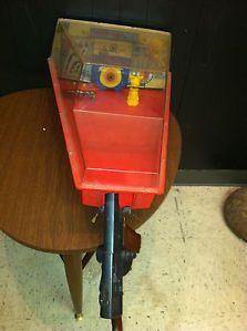1969 Marx Electro Shot Target Shooting Gallery Tin Arcade Game