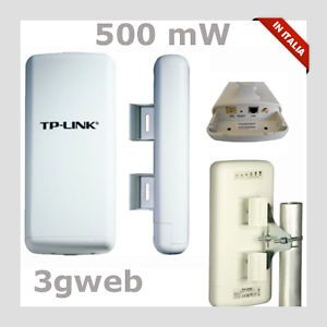 Access Point 500mW 54Mbps TP Link TL WA5210G CPE Repeater WiFi Wireless AP Clien