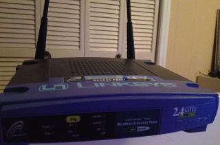 Linksys WAP54G Wireless G Access Point Router