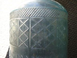 5 Gal Jug Vintage Glass Water Bottle Embossed The Famous Bastanchury Ranch
