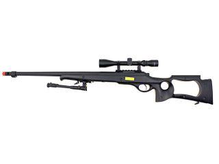 Well AWM G22 Bolt Action Airsoft Spring Sniper Rifle Gun Pkg