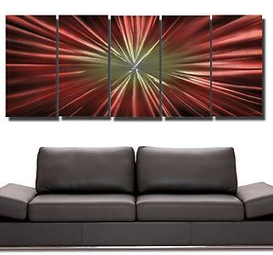 Large Abstract Metal Wall Art
