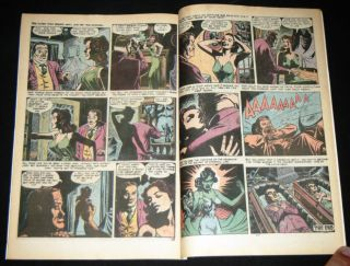 Giant Size Chillers 1 Marvel Comic 1974 Lilith Dracula's Daughter 1st App