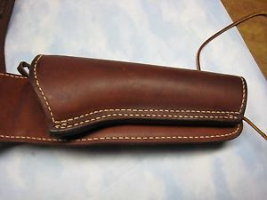 Western Leather Gun Holster and Belt Cowboy Action Single Action