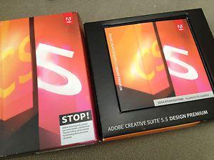 Adobe Creative Suite 5 5 Design Premium Student Teacher Edition CS5 Mac OS