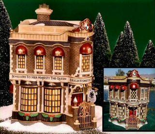 Brightsmith Sons Queen's Jewellers New Department Dept 56 Dickens Village D56