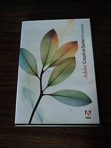 Adobe Creative Suite 2 CS2 Premium Version for Mac Education 6 CD's Serial Key