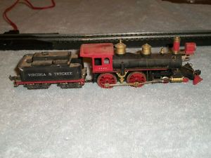 AHM HO Scale Reno Steam Engine and Virginia Truckee Tender Fix or Parts