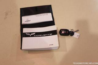 2006 Chevrolet Corvette Convertible Tan Leather Seats Navigation Low Miles
