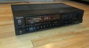 Technics SA 160 Quarts Synthesizer Am FM Stereo Receiver Antenna Works Great
