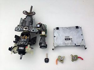 1999 Lexus GS300 ECU ECM Engine Computer Ignition Key Lock Set 89661 3A552