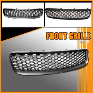 00 06 Audi TT Black Front Upper Mesh Hood Grille Grill