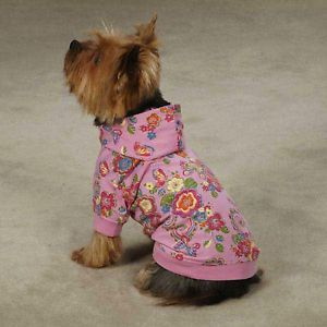 XX Small Teacup Yorkie Poodle Dog Hooded Sweatshirt Sweater Clothes Apparel XXS