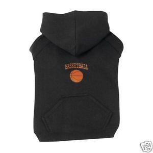 "Big Dog Silk Screen Basketball Sports Hoodie sweat Shirt XXL Sweater 30""L Jersey"