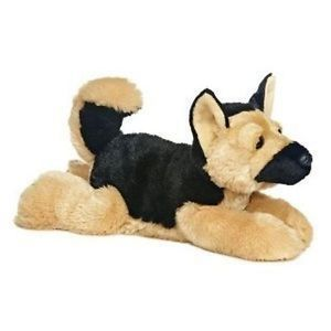 "12"" Rodan German Shepherd Dog Plush Stuffed Animal Toy"