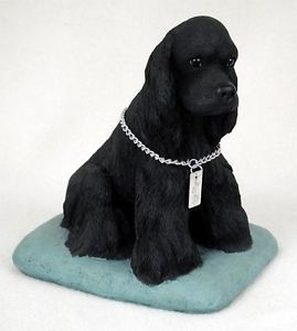 Cocker Spaniel Statue Figurine Home Garden Decor Dog Products Dog Gifts
