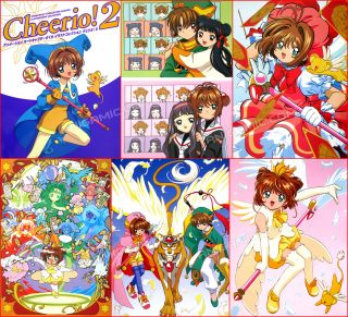 Cardcaptor Sakura Illustration Clamp Anime Art Book