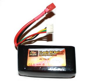 11 1v 1300mAh RC LiPo Battery Airplane Helicopter Car USA Shipping