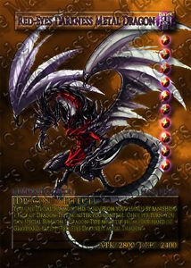 1x Red Eyes Darkness Metal Dragon Orica ♦ Super Holo ♦ Sexy ♦ Anime ♦ Yugioh MOT