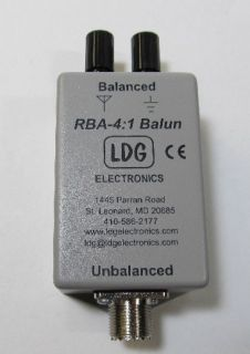 LDG RBA 4 1 Balun New in Original Box for Ladder Line and Long Wire Antennas