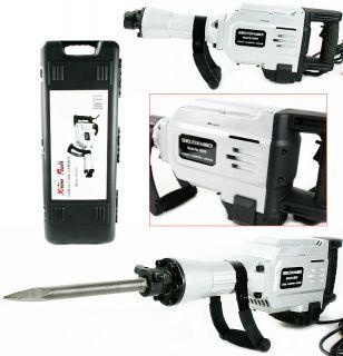 1700 Watt Electric Demolition Jack Hammer Punch Chisel Tools Concrete Breaker HD