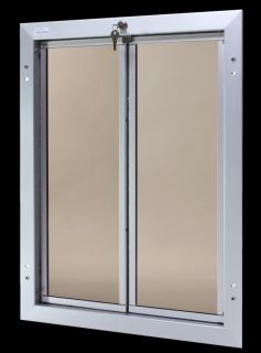 Plexidor Extra Large Dog Door Wall Unit Satin
