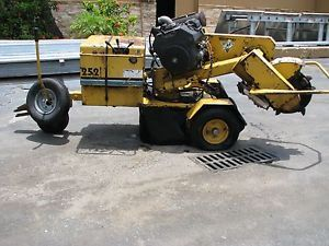 Vermeer SC252 Stump Grinder Kohler Gas Engine w Trailer