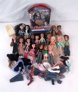 Mixed Lot of 15 Bratz 4 Boyz Mini Dolls Clothing Shoes Accessories
