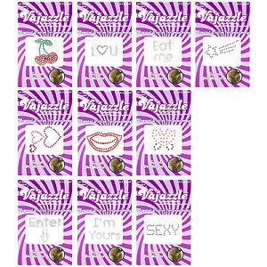 Vajazzle Kit Stickers Towie Body Art Temporary Tattoo Sexy Gift Transfers New