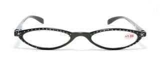 778ff5d24a Slim Cat Eye Retro Vintage Reading Glasses Rhinestone from 1 00 to 3 00 2