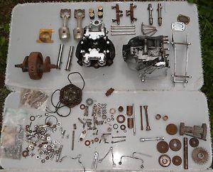Triumph Pre Unit Thunderbird 650 Engine Motor Basket Case T120 Bonneville