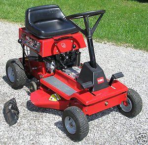 Toro Wheel Horse 8 25 Model 70044 Rear Engine Riding Mower