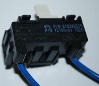 Kenmore Whirlpool Dryer Door Switch 12100 61 or W10246525 W10314253 30Day Wrnty