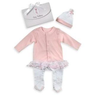 Baby Aspen Ballerina 2 Piece Size 0 to 6 Months Baby Layette Set