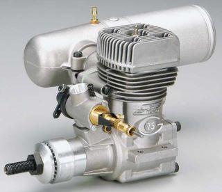 Super Tigre G 75 BB RC Model Airplane Engine w Pitts Muffler 75 R C OS