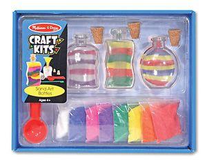 Melissa Doug Sand Art Bottles Craft Kit for Kids