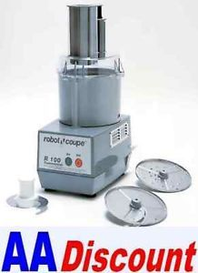 New Robot Coupe 3 4 HP Combination Food Processor R100