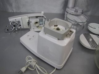 Oster Kitchen Center Mixer Blender Food Processor Slicer and Much More White