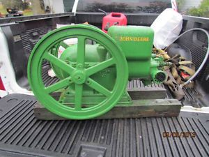 1932 John Deere Model E 1 ½ HP Hit and Miss Antique Gas Engine 1 5 Sign N Old