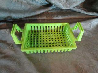 Fisher Price Fun with Food Dish Strainer Drainer Basket Kitchen Sink Water Wet