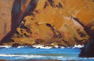 Oregon Coast Beach Seascape Original Art Oil Painting