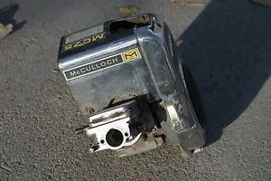 Vintage McCulloch Go Kart Engine MC75 Used Racing Restore Project Original Parts