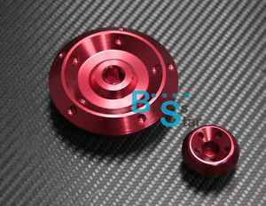 Red Right Side Engine Cover Camshaft Plug Fit for Honda CBR Hornet CBF CB 600
