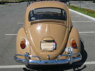 1965 Volkswagen Beetle Bug Original Crank Classic Sunroof