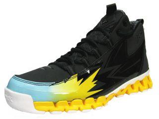 Reebok Mens ZigTech John Wall Season 3 Basketball Shoes Gravel Yellow 1f15a0bc6