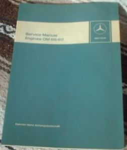 Mercedes Benz Engines OM 615 617 Service Manual Nice