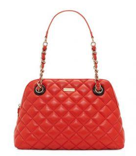 $458 Kate Spade Gold Coast Georgina Quilted Leather Shoulder Bag Shopper