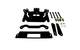 Dragonfire Racing Gusset Kit Front End Black for Polaris RZR XP 900 All Years