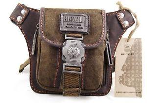 Mens Canvas Shoulder Bumbag Cowboy Style Fanny Pack Belt Waist Bags Hot Sale New
