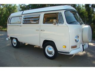 "1970 VW Volkswagen camper Van Bus Westfalia CA Free Shipping with ""Buy It Now"""